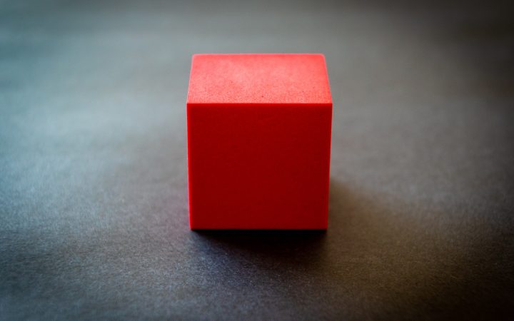 cube in arabic