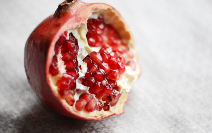 pomegranate in arabic