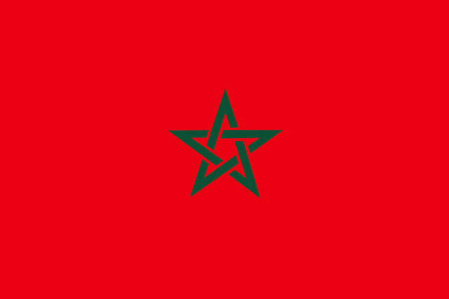 morocco in arabic