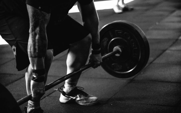 weight lifting in Arabic